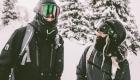 Morzine mountain snowboard