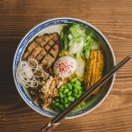 New menu!vFood at Hideout Hostel - Tonkotsu Ramen